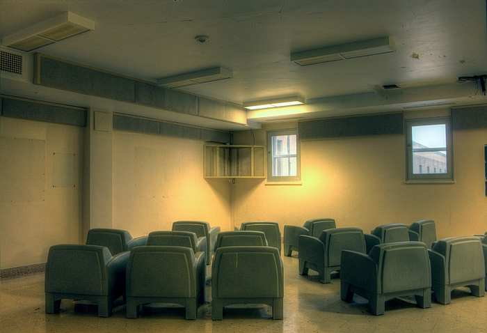 television room at Bluewater Youth Correctional