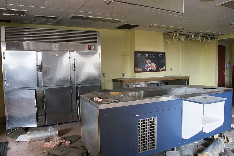 St. Catharine's General Hospital cafeteria