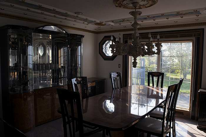 untouched dining room furniture