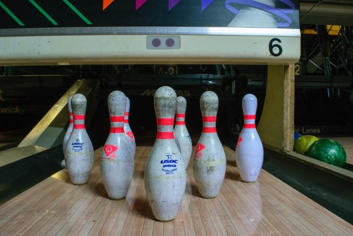 bowling lanes in All Star Bowling Alley in Scarborough, urban exploration photography, urban explorer, urban exploring, creepy, decay, abandoned, abandoned Ontario, abandoned exploring, abandoned houses, time capsule, abandoned photography, abandoned places